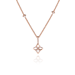 Legacy Pendant in Red Gold - Small