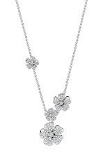 Forget Me Not multi flower necklace