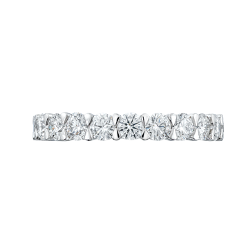 Claw set Diamond and Platinum Eternity Ring
