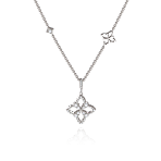 Legacy Pendant in White Gold - Large