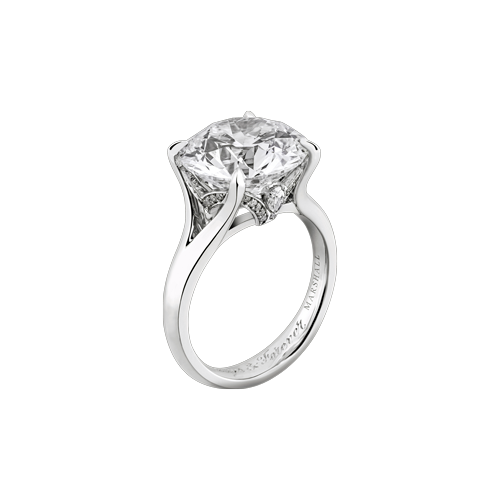 Bespoke 6.50ct Round Brilliant diamond Ring