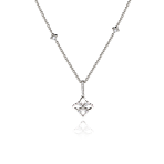 Legacy Pendant in White Gold - Small