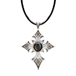 Four Seasons Cross with Star Sapphire