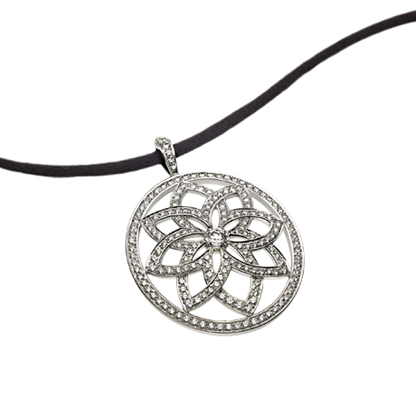 Arabesque Lattice Pendant