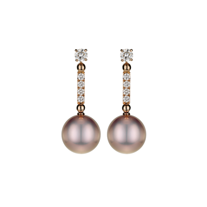Wish List Pink Pearl Drop Earrings