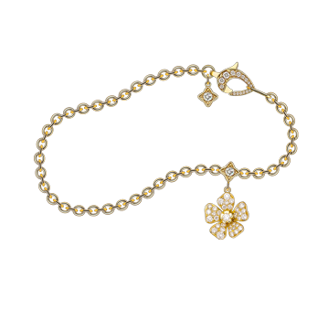 Forget Me Not Bracelet in Yellow Gold